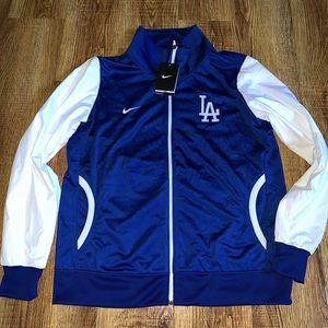 Royal Blue Dodger Nike LA Jacket